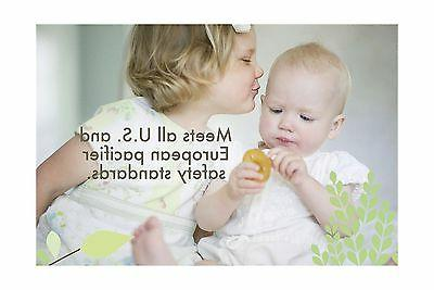 Natursutten BPA-Free Pacifier Rounded 6-12 Months Free