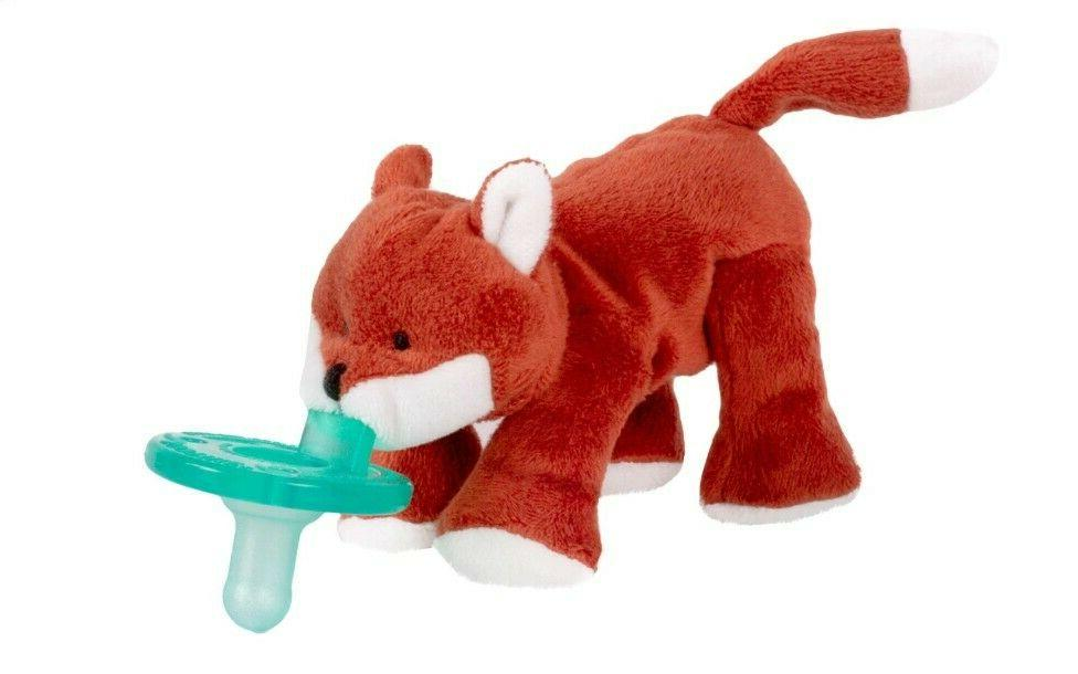 brand new sealed infant pacifier fox