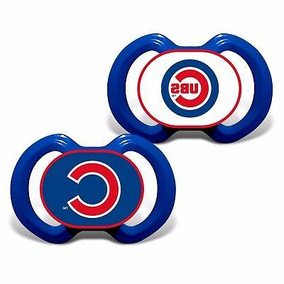 chicago cubs pacifiers set bpa