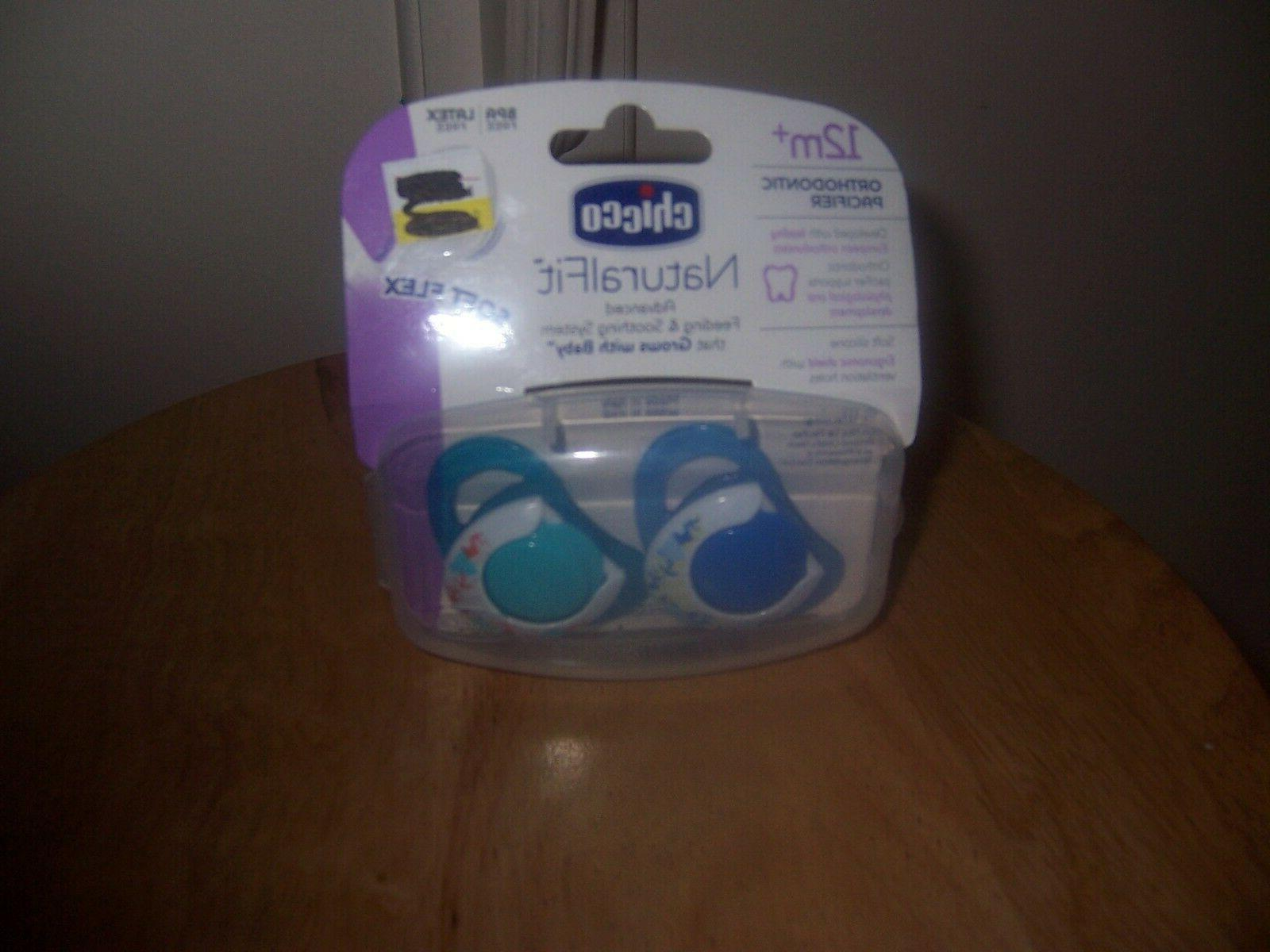 chicco naturalfit natural fit soft flex pacifier