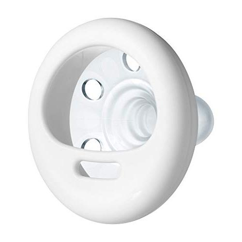 Tommee Tippee Closer To Nature Soother Pacifier BPA-free, Breast-Like White - 4 count