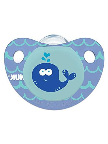 NUK Cute as a Button Sea Creatures in Assorted Colors Styles, 6-18 Count