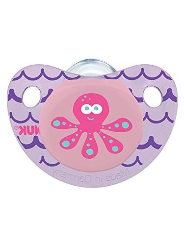 NUK Cute Button Sea Creatures in Styles, Count