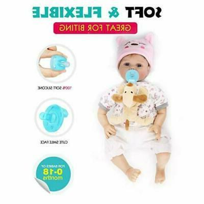 Cute Pacifier Plush Toy Newborn Kids Boys & Girls Nipp