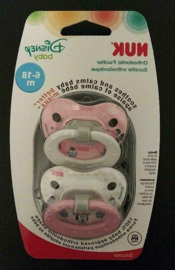 disney baby 6 18m orthodontic pacifier pack