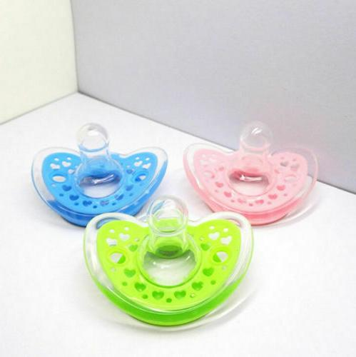 dynamic orthodontic pacifier dummy translucent silicone baby