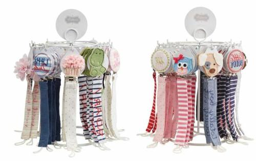 e8 baby boy loop pacy pacifier clips