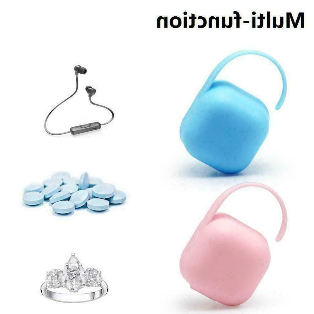 Eco-friendly Pacifier Container Storage Infant Baby Q5U4