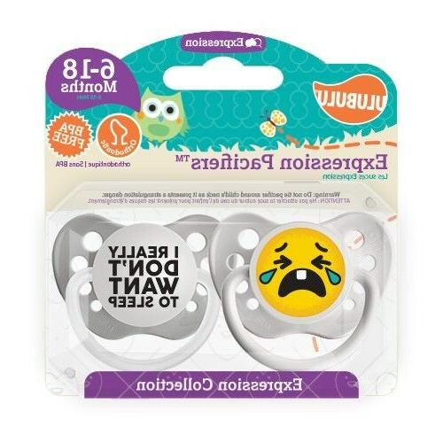 Ulubulu Pacifiers & I Really Don't Want to