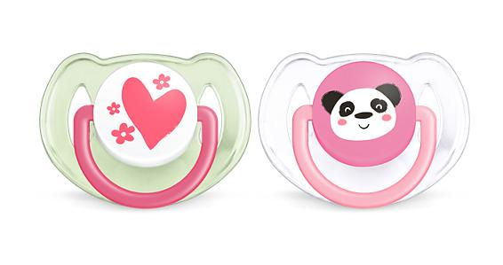 fashion soft silicone pacifier with cover 6