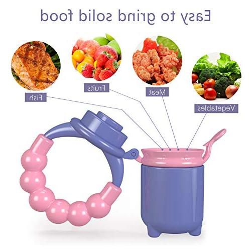 Youen Fruit Feeder Feeding Pacifier for - Food Fruit Toy,