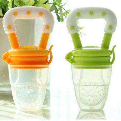 Infant Baby Pacifier Fruits Nibbles