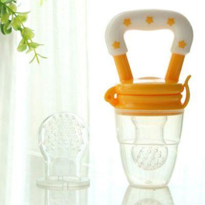 Infant Baby Feeding Fruits Soup Nibbles