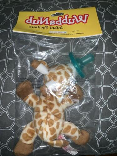 infant newborn baby soothie pacifier baby giraffe