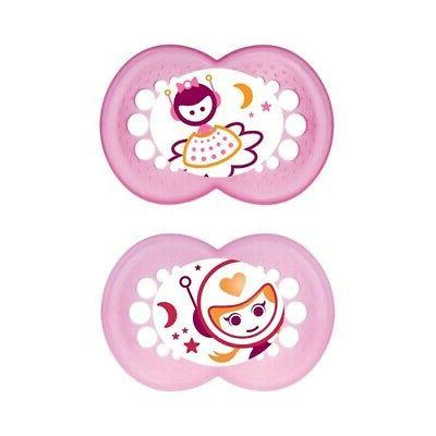 mam night soother 12 months plus girls