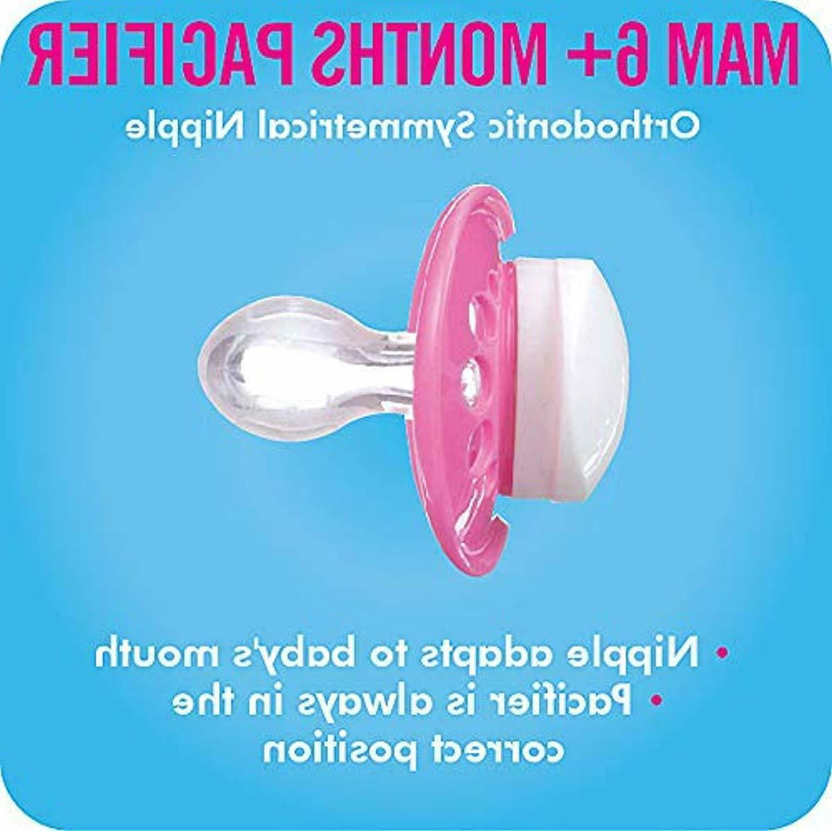 MAM 6+ Best Pacifier for Babies, 'C