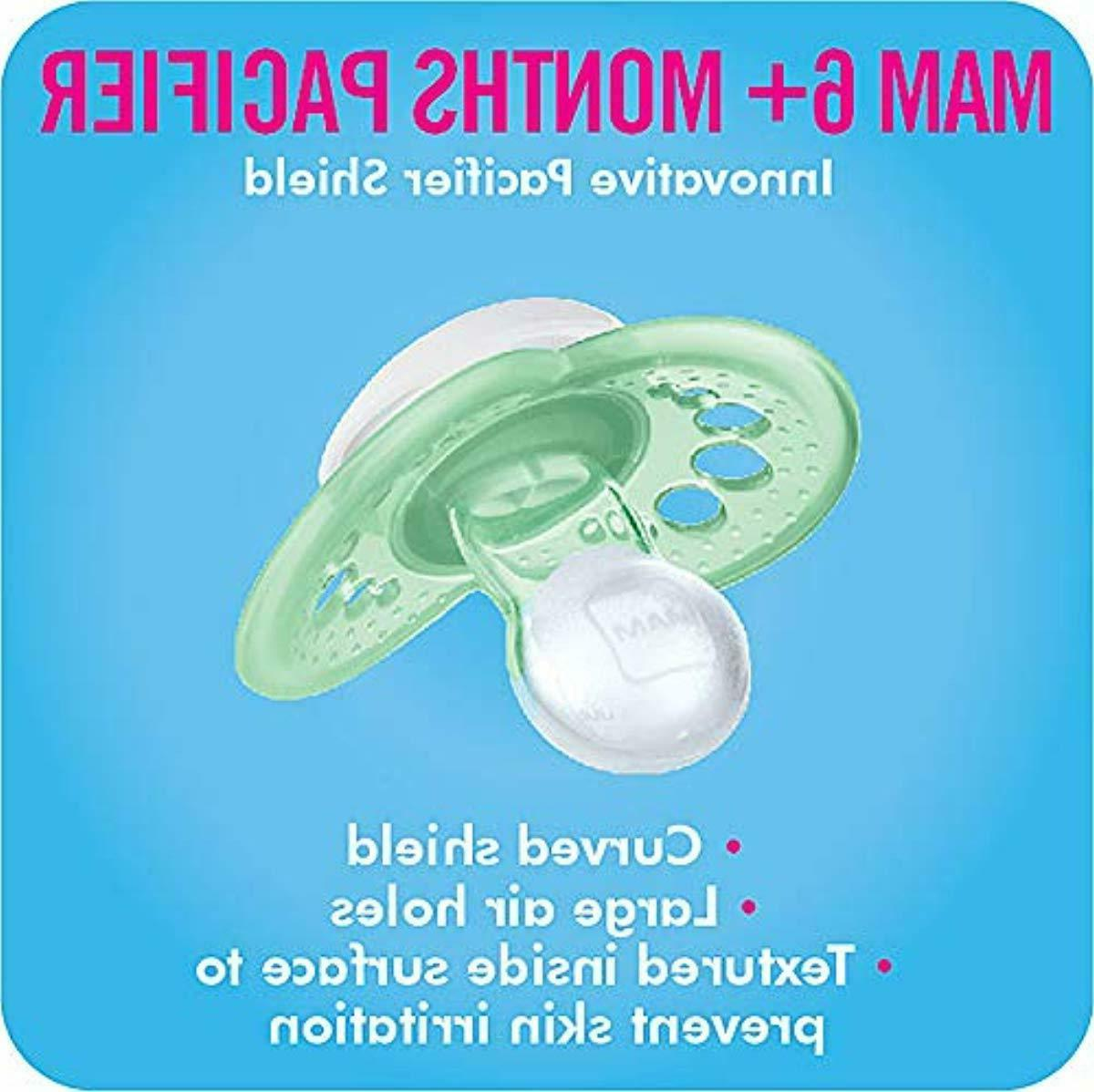 MAM Pacifiers, 6+ Months, for Babies, 'C