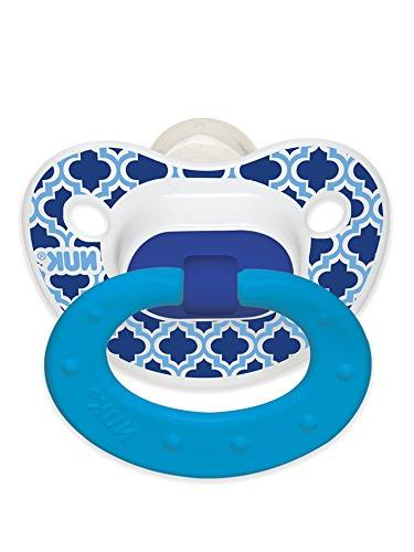 NUK Marrakesh & Whales Puller Pacifier , Colors and Pattern