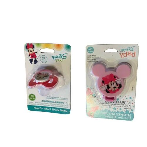 mickey mouse deluxe pacifier