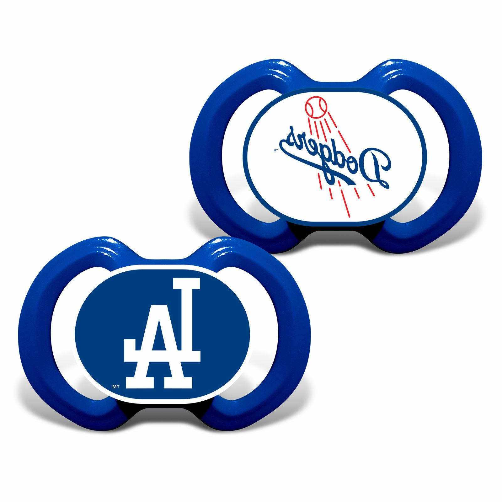 mlb los angeles dodgers 2 piece pacifier