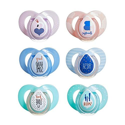 moda orthodontic pacifiers ages