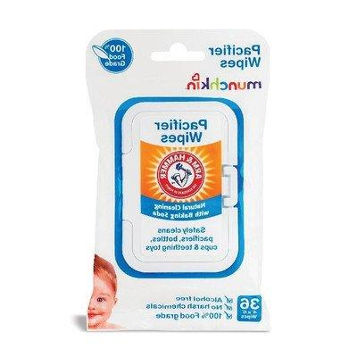 Munch Pacifier Wipes Size A&H Pacicier 36ct