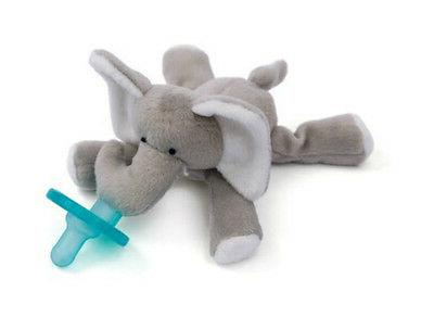 new elephant infant baby soothie pacifier binky