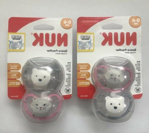new space orthodontic pacifiers 0 6 months