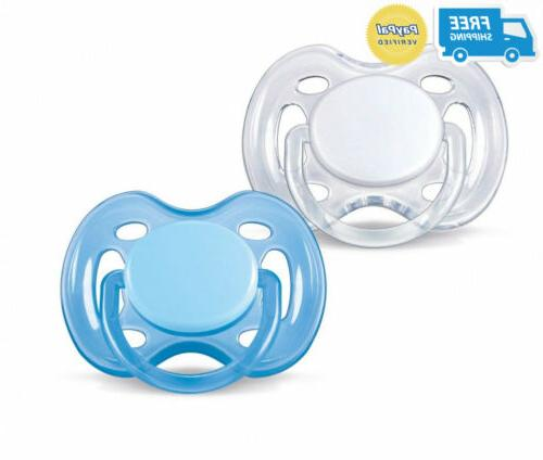 orthodontic pacifier 0 6 months free flow