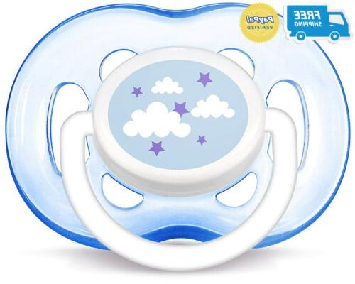 Philips AVENT Pacifier, Blue 18 Months