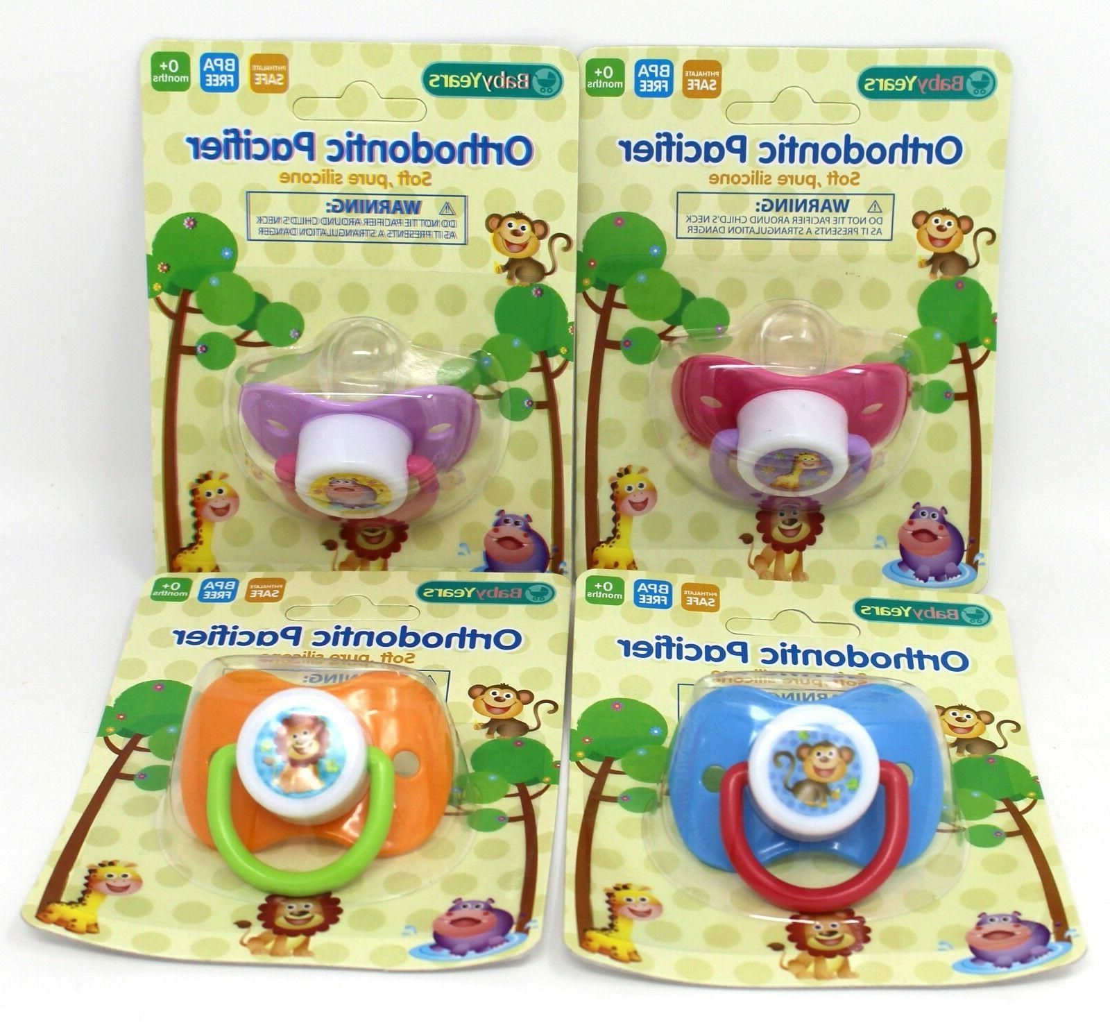 orthodontic pacifier soft silicone bpa free phthalate