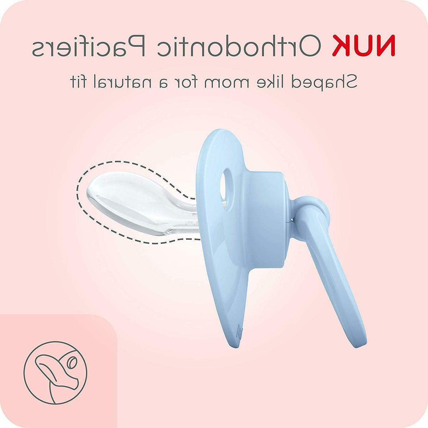 NUK Pacifiers, Months,