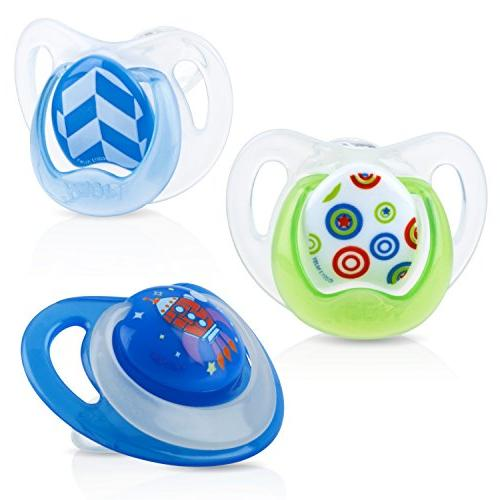Nuby Orthodontic Pacifiers M