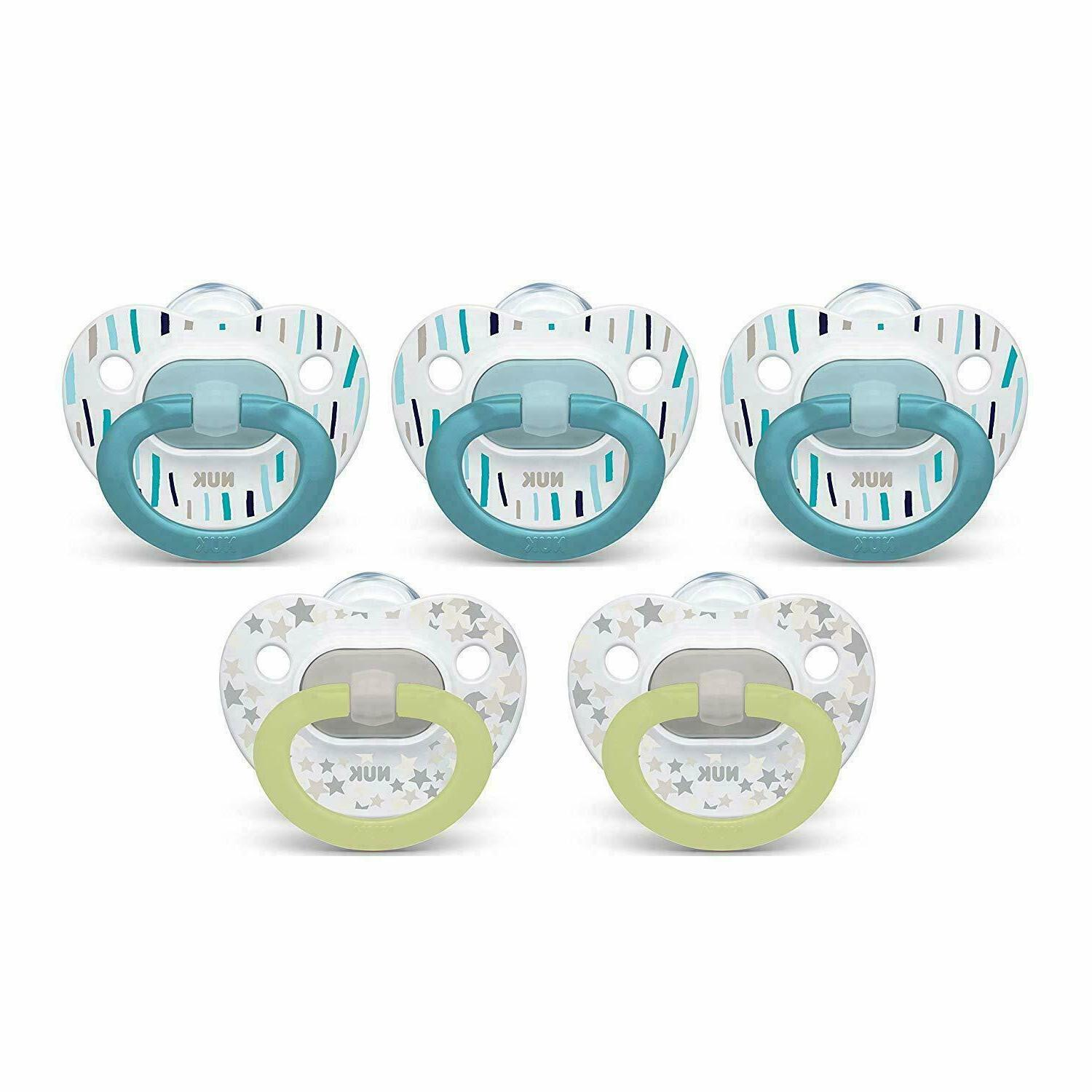 NUK Pacifiers Pack / Months 5-Pack