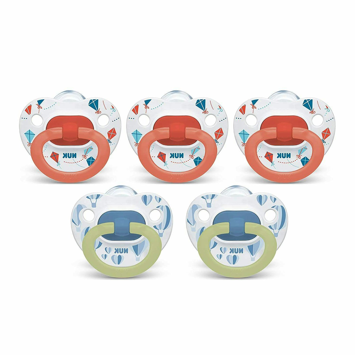 NUK Orthodontic Value Pack Months 5-Pack