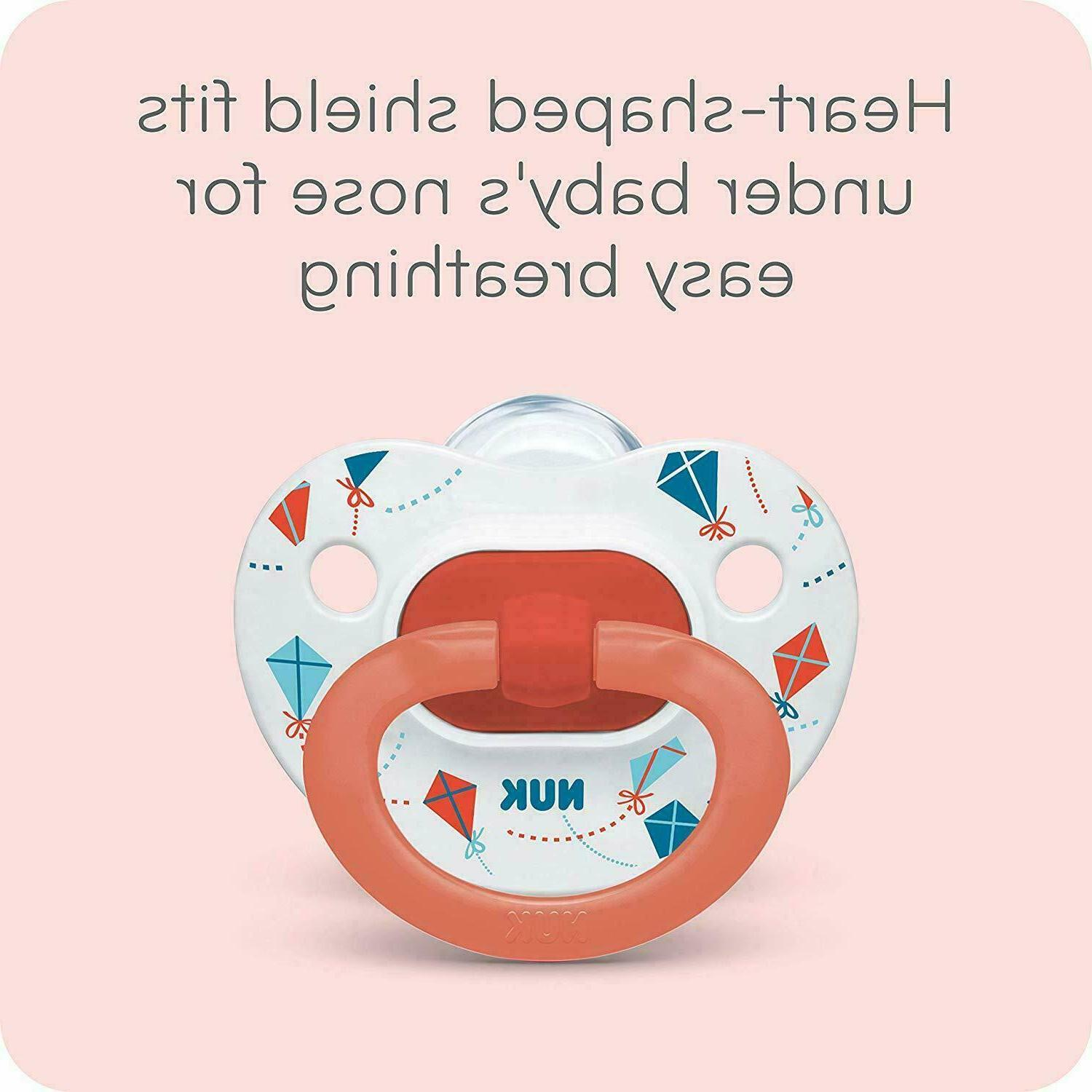 NUK Orthodontic Pacifiers Pack / 6-18 Months