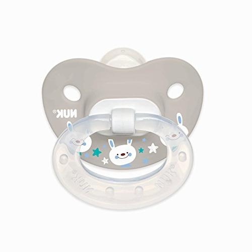 NUK Orthodontic Pacifiers, 0-6 Months,
