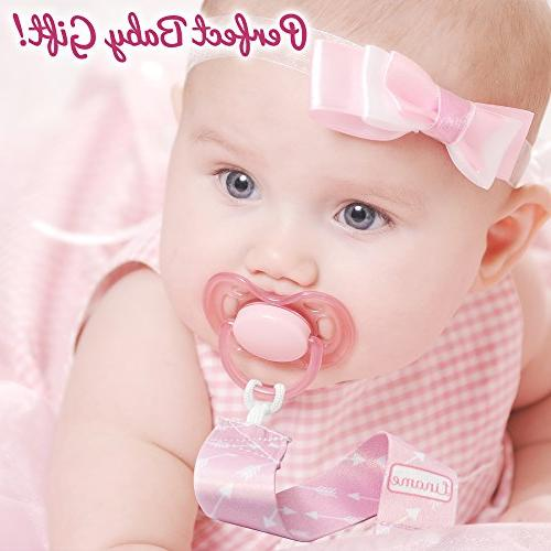 Liname Girls Toy & 4 Gift - Unique - Clips & Soothers - Baby Gift