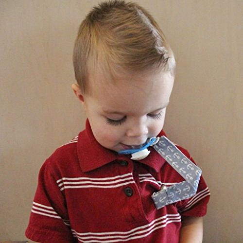 Boys, Pacifier Holder Fits Styles Toys and Baby Shower Gift