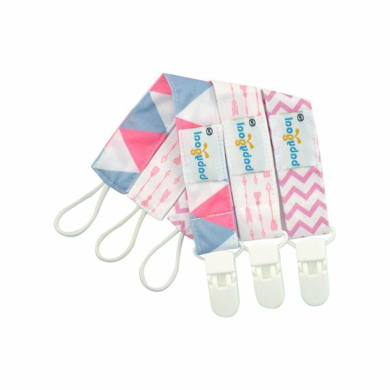 Babygoal Pacifier Clips Girls-Premium Universal Clip with Pacifier
