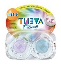 Pacifier Translucent Toddler S 6-18mo
