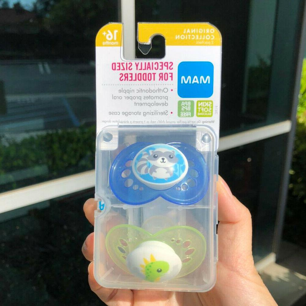 MAM Pacifiers, Months, For Babies, Animal