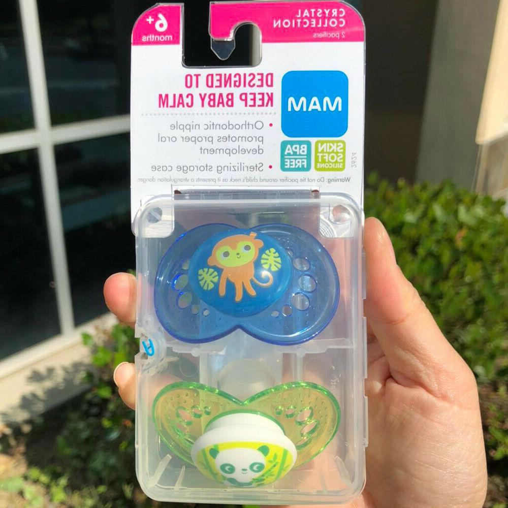 pacifiers baby 6 months best for breastfed