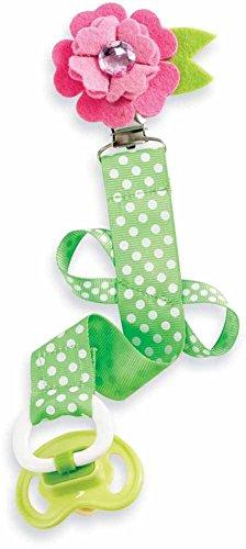 Mud Pie Pacy Clip, Dotted Flower