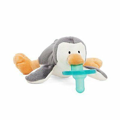 NEW | Wubbanub Penguin Infant Baby Soothie Pacifier Binky |