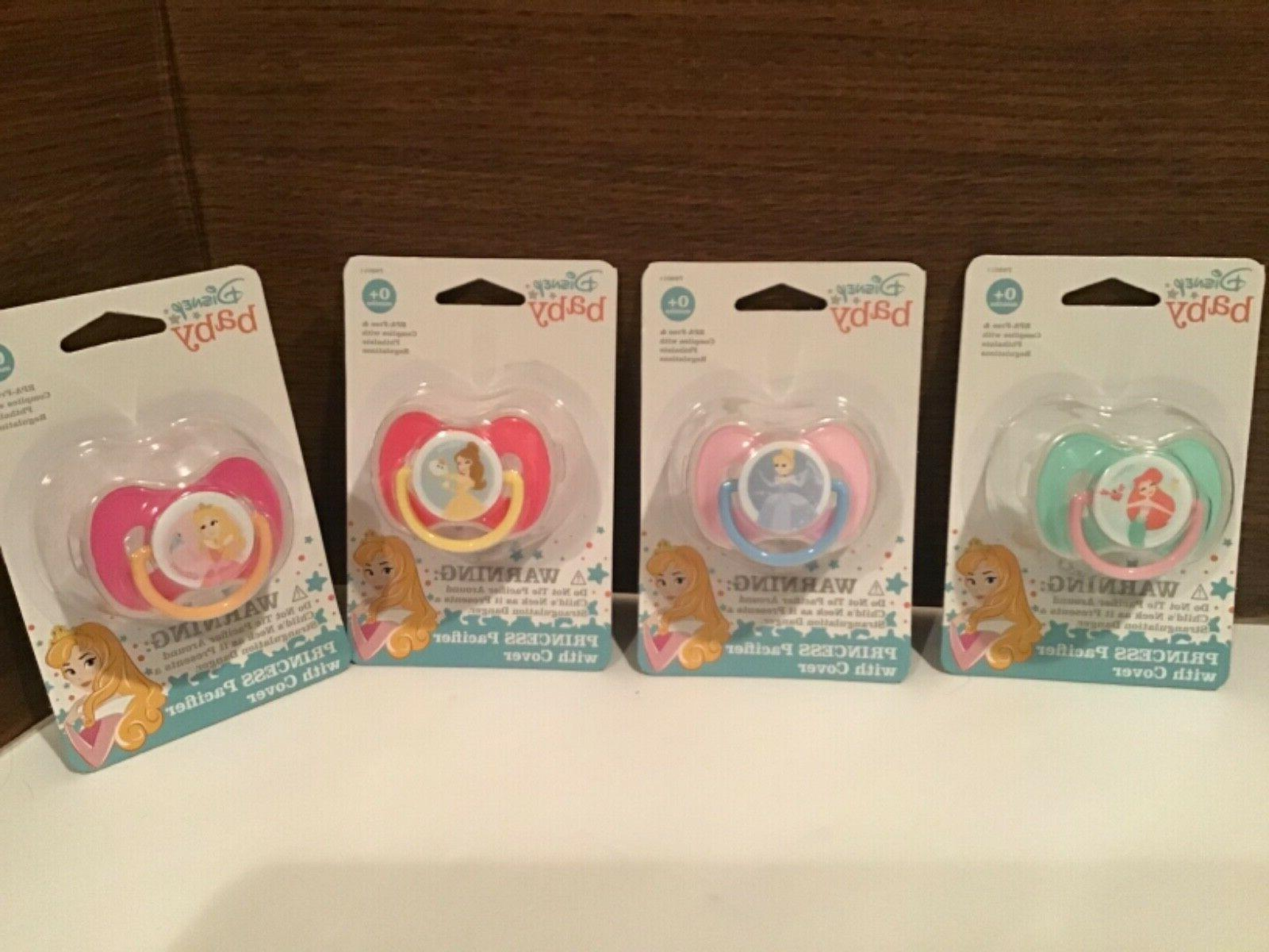 princesses baby pacifiers nubs soothers lot of