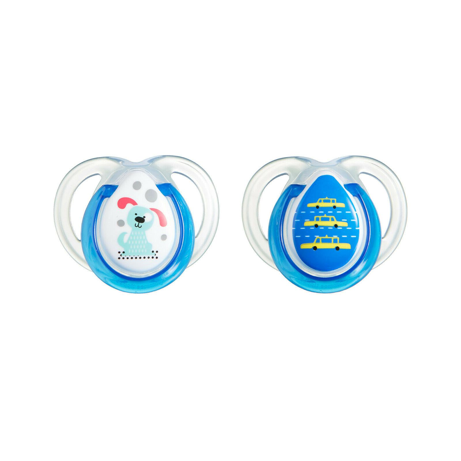 sealed every day orthodontic baby pacifier 2pk