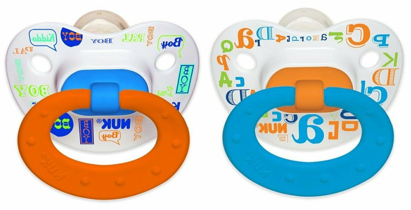 silicone baby talk puller pacifier 0 6