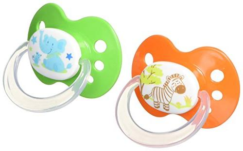 silicone orthodontic binky pacifiers