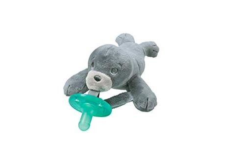 Philips Avent Soothie Snuggle Pacifier, 0m+, Seal, SCF347/04
